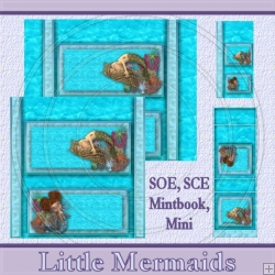 Little Mermaids Set