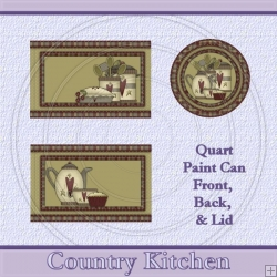 Country Kitchen Set Quart