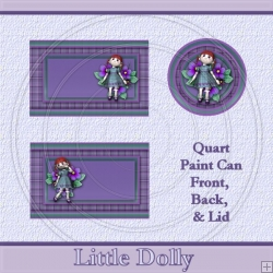 Little Dolly Set Quart