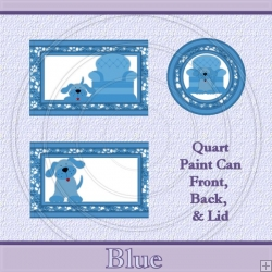 Blue Set Quart