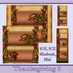 Thanksgiving 5 Set