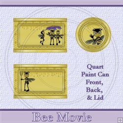 Bee Movie Set Quart