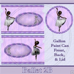Ballet 2B Set Gallon