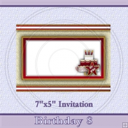 Birthday 8 Invite