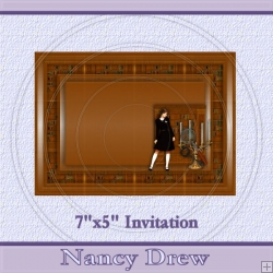Nancy Drew Invite