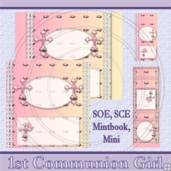 1st Communion Girl Set