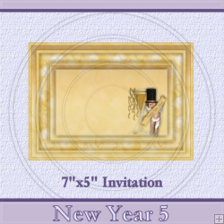 New Year 5 Invite