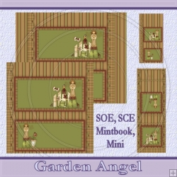 Garden Angel 1 Set