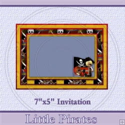 Little Pirates Invite