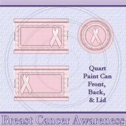 Breast Cancer Awareness 1 Set Quart