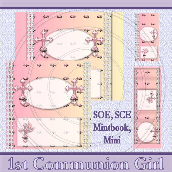 1st Communion Girl Set - Click Image to Close